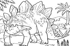 Printable 23 Realistic Dinosaur Coloring Pages 4919