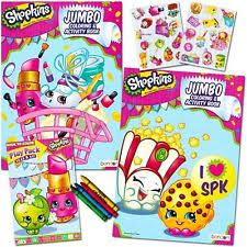 Shopkins Ultimate Coloring And Activity Book Set 2 Jumbo Books