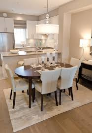 In Many Newer Homes The Dining Room May Actually Be Part Of An Open Concept Plan Combining Living And Kitchen Areas Take A Cue From This