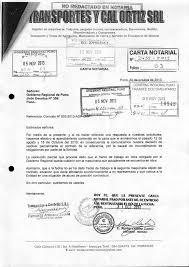 Carta Notarial Maderera Poma