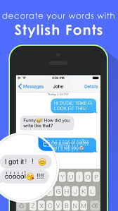 Cool Fonts Keyboard for iOS 8 better fonts and cool text