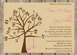 Rustic Wedding Invitation Wording Templates Themed Country
