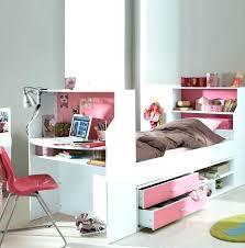 chambre enfant avec bureau fantaisie lit avec bureau fille enfant pour chambre de alinea