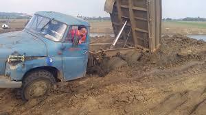 100 Stuck Trucks Dump Truck Driver Get On Mud Road Extreme Dump Truck Offroad