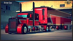 100 Phantom Truck Kenworth The Trailer V10 ETS2 Mods SCS Mods
