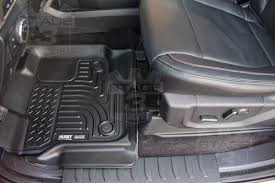 Lund Rubber Floor Mats by 2015 2018 F150 Supercrew U0026 Supercab Husky Liners Weatherbeater