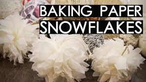 Baking Sheet Snowflakes DIY
