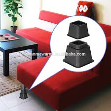 Heavy Duty Bed Risers by Sofa Risers Best Home Furniture Decoration