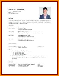 Ojt Resume Sample No Work Experience Together With Student Samples For College Students