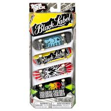 amazon com tech deck 96mm fingerboards 4 pack styles vary toys