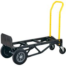 Harper Trucks 700 Lb Capacity Nylon Convertible Hand Truck And Dolly ...