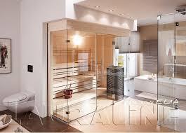 bad wellness24 sauna glas design elia 144 263 cm nach mass
