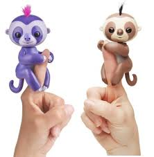 WowWee Fingerlings Baby Sloth For 1484 Purple Brown In Stock
