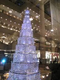 Swarovski Crystal Christmas Tree Zurich