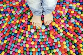 tapis a faire soi meme un tapis pour la chambre des enfants
