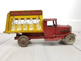 1930'S ORIGINAL PRESSED Steel Metalcraft Coca-Cola Distributer Truck ...