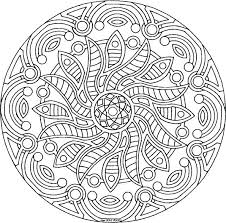 Detailed Flower Coloring Pages Picturesque Design Adult Copy Free Realistic