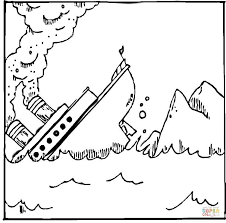 Click The Titanic Coloring Pages To View Printable Version Or Color It Online Compatible With IPad And Android Tablets