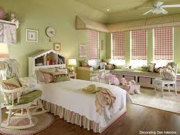 Light Pink Ruffle Blackout Curtains by Kids Room Accessories Enchanting Light Green Pink