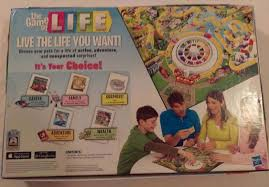 The Game Of Life Hasbro Board Two Decks Cards Missing Kids Have Spoken