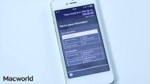 Apple Help Desk Uk by Complete Guide To Siri Ios 9 Macworld Uk