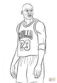Click The Michael Jordan Coloring Pages To View Printable