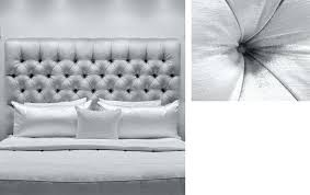 White Velvet King Headboard by Headboards Beautiful White Velvet Tufted Headboard King Full