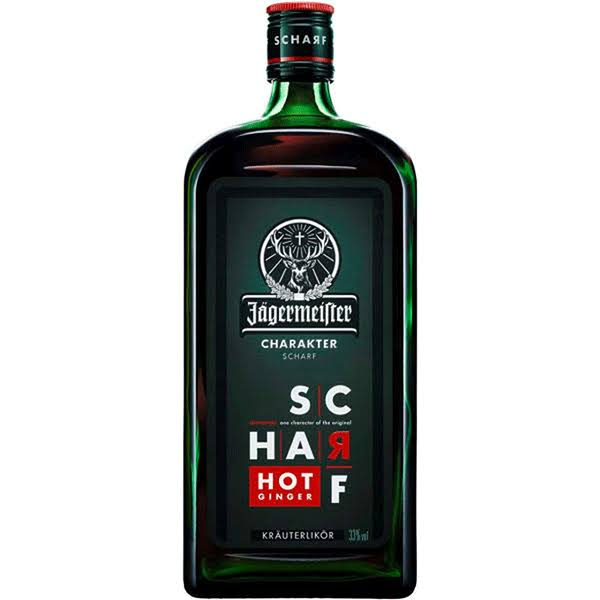 Jagermeister Scharf Hot Ginger Liqueur 750ml
