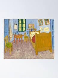 vincent gogh schlafzimmer in arles poster