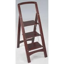54 Wood Folding Step Stool, Folding 2 Step Stool Wooden Step ...