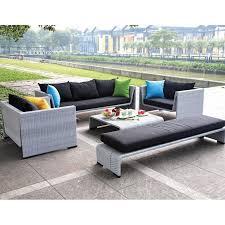 tosh furniture modern gray sofa set hayneedle