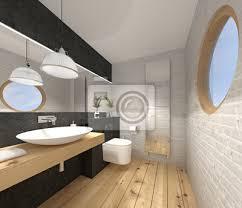gäste wc kleines wc toilette poster myloview