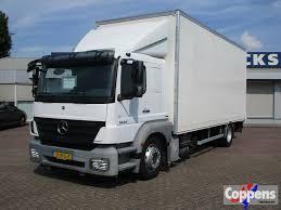 100 Mercedes Box Truck MERCEDESBENZ 1824 LL Euro 5 Closed Box Trucks For Sale From The