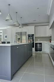 Light Gray Kitchen Best Blue Grey Kitchens Ideas On Designs Wall Color Subway Tile