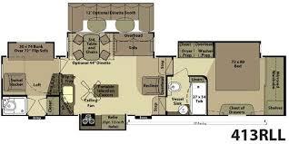 Jayco Designer Fifth Wheel Floor Plans by 5th Wheel Rv 2 Bathrooms Floor Plans Jayco Eagle 30 5dbsa