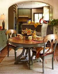 Marchella Sage Round Dining Table