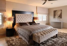 Magnificent Tufted Headboard Beds Decorating Ideas Images In Bedroom Contemporary Design