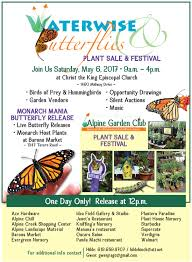 """DON T MISS the """"Waterwise & Butterflies"""" Plant Sale Festival"""
