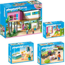 playmobil city 4 teiliges set 5574 moderne luxusvilla