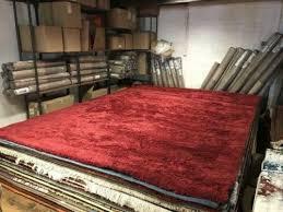 neu 300 x 400 cm rot hochflor teppich 38 mm desner sehr weich