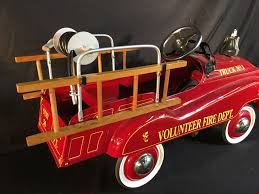 VINTAGE VOLUNTEER FIRE DEPT. TRUCK NO. 1 PEDAL CAR, BY GEARBOX PEDAL ... John Deere Pedal Car Fire Truck M15 Nashville 2015 Fall Auction Owls Head Transportation Museum Murray Rpainted Engine Sale Number 2722t Lot A Late 20th Century Buddy L Childs Fire Truck Pedal Car 34 Classic Kids Black Or Red Free Shipping My A Crished Childhood Toy Collectors Weekly Lifesize And Then Some General Hemmings Daily Baghera Toy Mee Ldon Antique Cars 1950 Vintage1960s Super Deluxe Hap Moore Antiques Auctions Retro Fighter Comet Sedan Replica Vintage