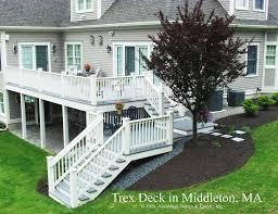 Trex Deck Designer Mac by Deck Designs For 2 Story House Radnor Decoration
