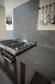 beton cire mur cuisine lzzy co