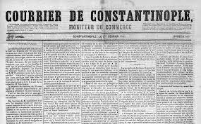 si e de constantinople presse ottomane francophone gallica