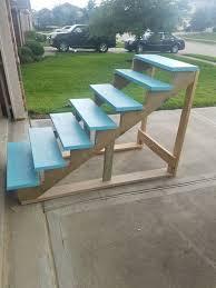 DIY Above Ground Pool Stairs