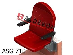 Deluxe Stadium Chair With Arms by Stadium Seats Aldekon Furniture