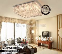 New Name Brand Modern Luxury Bedroom Drawing Room Dining Hall Crystal Square Ceiling Chandelier Lamp