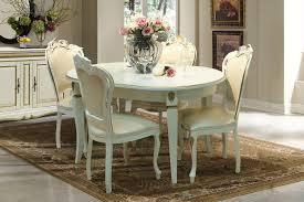 cremona barock esszimmermöbel essgruppe mit tisch und stühlen creme mit gold