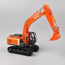 100 Orange Truck Shop Diexast 150 Scale HIACHI ZH200 Excavator Model