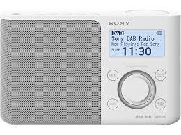 sony xdr s61d dab radio digital fm dab dab weiß mediamarkt